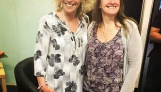 Wendy Gadsby and Joanna Cameron. Drain that Pain April 2018 700 x 700 332x190 - Pain Elimination with Hypnotherapy